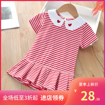 Vest female Melon orange white stripes, festive red white stripes, atmospheric black and white stripes 90 (height 75cm-88cm), 100 (height 85cm-98cm), 110 (height 95cm-108cm), 120 (height 105cm-118c), 130 (height 115cm-128c) Other / other stripe 3 months