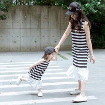 Dress Stripes in stock female Other / other 130cm, 120cm, 90cm, 100cm, 110cm, 140cm, mom's one size fits all Cotton 100% 18 months