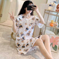Outdoor casual suit Tagkita / she and others female 101-200 yuan M,L,XL,XXL 6-525ba Lace Baby bear white, 16-525ls Lace Baby Bear green, 16-525fe Lace Baby Bear Pink Spring, autumn, summer 16-525BA cotton