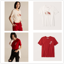 T-shirt Spring 2021 Short sleeve Crew neck Regular cotton 96% and above