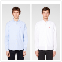 shirt Fashion City Others White, blue routine square neck Long sleeves Self cultivation Other leisure spring Cotton 100% 2021 oxford cotton More than 95%