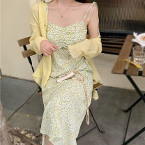 Fashion suit Summer 2020 S, M yellow 25-35 years old Other / other xygfs23 96% and above cotton
