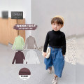 Sweater / sweater 80cm, 90cm, 110cm, 120cm, 130cm, 100cm [model try on size] Pure cotton (100% cotton content) neutral Apricot, black, green, white, coffee Udbaby / udbaby leisure time There are models in the real shooting Socket routine High collar nothing Fine wool Solid color TX207
