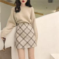 Other suits Autumn 2020 Skirt, sweater S,M,L,XL 18-25 years old Other / other