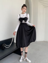 Fashion suit Spring 2021 M. L, average size Shirt [one size], sling [M / l], skirt [one size] 18-25 years old Other / other 51% (inclusive) - 70% (inclusive) polyester fiber