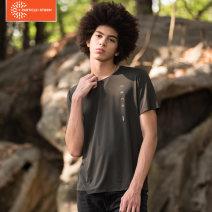 Quick drying T-shirt male Army green, black Other / other 101-200 yuan M,L,XL,XXL,XXXL Short sleeve Summer 2020 Crew neck China