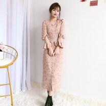 Dress Spring 2021 Orange, pink, mocha S, M LB snidel