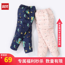 Down pants 90% Goldfarm / Gopher nylon Male and female White duck down 80cm 90cm 100cm 110cm 120cm winter Class A High waist 12 months, 2 years, 3 years, 4 years, 5 years Don't open the crotch Polyamide fiber (nylon) 100% Autumn of 2019