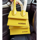 Bag The single shoulder bag cowhide Small square bag brand new European and American fashion Mini leisure time hard no Single root One shoulder cross carry nothing youth other Hard handle cowhide Bag with cover top layer leather