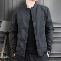 Jacket Other / other Fashion City Black button, military green button, black zipper, military green zipper, black button (plush thickening), military green button (plush thickening) M. L, XL, 2XL, 3XL, 4XL (170-185 kg), 5XL (185-200kg), 6xl (200-220kg), 7XL (220-240kg), 8xl (240-260kg) routine 2021