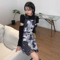 Fashion suit Summer 2021 S. M, l, average size T-shirt 3663, dress 3664# 31% (inclusive) - 50% (inclusive)