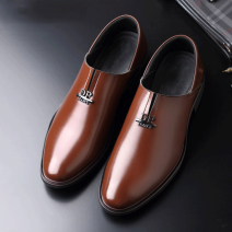Low top shoes 165 black, 165 Brown 38,39,40,41,42,43,44 PRLFYHCONE Superfibria Trochanter Sharp point Outdoor leisure shoes Superfibria business affairs office Solid color Flat heel spring and autumn rubber ventilation Adhesive shoes Youth (18-40 years old) Totems Low heel (1-3cm) PU Business Formal