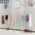 Clothing display rack Floor stand: 120 * 40 * 160cm, floor stand: 150 * 40 * 160cm, hanging style 1: 60 * 40 * 190cm, hanging style 2: 50 * 40 * 180cm, hanging style 3: 40 * 40 * 180cm, five layer shelf: 50 * 40 * 160cm Official standard
