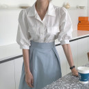Fashion suit Spring 2021 Average size White shirt s, white shirt m, blue skirt s, blue skirt m, blue skirt L 18-25 years old Other / other 51% (inclusive) - 70% (inclusive)