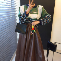 Fashion suit Winter 2020 Average size Skirt, sweater 18-25 years old 31% (inclusive) - 50% (inclusive)
