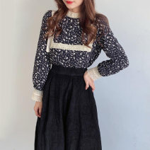 Fashion suit Autumn 2020 Average size Color shirt, Corduroy Skirt 18-25 years old Other / other 31% (inclusive) - 50% (inclusive)