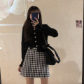 Fashion suit Autumn 2020 Note the options Black sweater, Skirt M, skirt s