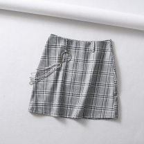 skirt Spring of 2018 S,M,L Graph color street Europe and America