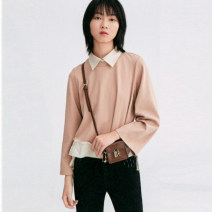 T-shirt Beige, beige (no interior) XS,S,M,L,XL,XXL Spring 2021 Long sleeves Regular Viscose 51% (inclusive) - 70% (inclusive) Other / other S011004Z00