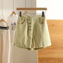 Casual pants Yellow, white S,M,L,XL Summer 2021 shorts routine 96% and above X68K332 Other / other cotton