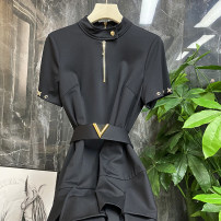Dress Spring 2021 black S (pay attention to the store to send 10 yuan cash coupon), m (pay attention to the store to send 10 yuan cash coupon), l (pay attention to the store to send 10 yuan cash coupon)