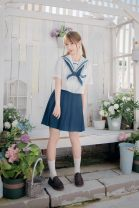 skirt Autumn 2020 Xs, s, m, l, XL, sailor suit, bow tie in another link 42, 45, 48, matching sailor suit in other links Short skirt Sweet Natural waist Pleated skirt lattice Type A 18-24 years old 51% (inclusive) - 70% (inclusive) Other / other Viscose solar system