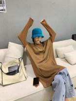 Wool knitwear Autumn 2020 XS,S,M,L,XL Black, green, beige, coffee Long sleeves singleton  Socket nylon 51% (inclusive) - 70% (inclusive) Medium length routine street easy OS028369 MONARTW Europe and America