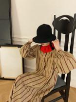Dress Winter 2020 Short - red stripe, short - black stripe, long - red stripe, long - black stripe XS,S,M,L,XL Mid length dress singleton  Long sleeves street Others MONARTW OA032111 Europe and America