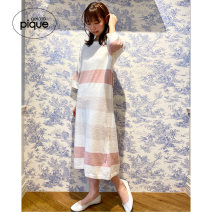 Nightdress gelato pique Pink Blue F PWNO211047 Spring 2021 Other 100% Same model in shopping mall (sold online and offline)