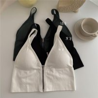 Vest sling Summer 2021 White, green, black Average size singleton  have cash less than that is registered in the accounts Self cultivation commute camisole 18-24 years old 51% (inclusive) - 70% (inclusive) cotton 8676F