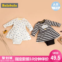 Jumpsuit / climbing suit / Khaki Bala Class A female Gray 032 black and white 049 66cm 73cm 80cm 90cm Cotton blended fabric spring and autumn Long sleeves Long climb Versatile No model nothing Other 100% Socket
