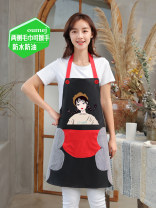 apron Sleeveless apron antifouling Korean version PVC Household cleaning Average size Other / other public yes like a breath of fresh air