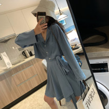 Fashion suit Spring 2021 S,M,L Blue, champagne 96% and above