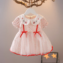 Dress Red light yellow female Knoxville 80cm 90cm 100cm 110cm 120cm Other 100% summer princess Short sleeve Broken flowers other A-line skirt Class A Spring 2021 12 months 6 months 9 months 18 months 2 years 3 years 4 years 5 years old Chinese Mainland Zhejiang Province Huzhou City