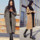 Wool knitwear Autumn of 2019 Average size Long sleeves singleton  Socket other 51% (inclusive) - 70% (inclusive) Medium length thick commute Self cultivation routine Solid color Korean version Other / other