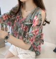 Lace / Chiffon Summer of 2019 M,L,XL,2XL,3XL,4XL commute Socket singleton  easy Regular Decor routine 18-24 years old Other / other Korean version 51% (inclusive) - 70% (inclusive)