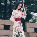 Dress Summer 2021 White flower M,L,XL,2XL Middle-skirt singleton  commute High waist Broken flowers Socket Irregular skirt Others 18-24 years old Korean version Splicing 81% (inclusive) - 90% (inclusive) Chiffon other