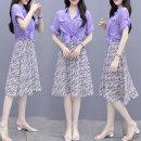 Fashion suit Summer 2021 S,M,L,XL Picture color 51% (inclusive) - 70% (inclusive) cotton