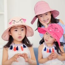 Hat รหัสเฉลี่ย หมวกด้านบนที่ว่างเปล่า อื่น ๆ / อื่น ๆ หญิง Velcro cap 48-5311 years old ชายคาบ้านขนาดใหญ่ สันทนาการ เส้นใยสังเคราะห์ Girls' cartoon Hat 4 colors