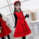 Dress Red, pink, red [836], pink [836], red [836, pink [836, pink Hanfu 2, pink Hanfu 3, red 852, pink 852 female Other / other 110cm,120cm,130cm,140cm,150cm,160cm Polyester 80% cotton 20% spring and autumn princess Skirt / vest Solid color Wool A-line skirt Class B Chinese Mainland