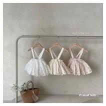 Jumpsuit / climbing suit / Khaki Other / other Class C neutral White, off white, pink S(0-6m),M(6-12m),L(12-24m) cotton 3 months, 6 months, 12 months, 18 months, 9 months