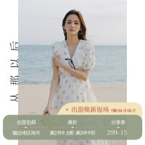 Dress Spring 2021 Figure color (spot), figure color (pre-sale 4.20-4.27 delivery) S,M,L Short skirt singleton  Long sleeves commute V-neck High waist Decor zipper A-line skirt bishop sleeve Others 18-24 years old Type A since then Retro More than 95%