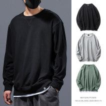 Sweater Youth fashion Others Black, flower grey, bean green, black-wy1045, dark grey-wy1045, Royal blue-wy1045, black-wt0053, black-7003, black-wt0058, black [flocking], black-wt0053 [flocking], black-7003 [flocking] M. L, XL, 2XL, 3XL, 4XL 200-220kg, 5XL 220-240kg, 6xl 240-260kg Solid color Socket