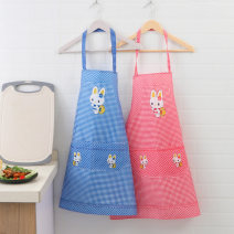 apron Rabbit red, rabbit khaki, lace coffee Sleeveless apron antifouling Korean version other Household cleaning Average size A050127004 Clear jade dew public no