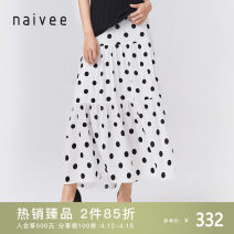 skirt Summer 2020 155/62A/S 160/66A/M 165/70A/L 170/74A/XL white longuette commute High waist Cake skirt Type A 25-29 years old 206P72914-21 More than 95% Naivie Viscose printing Ol style Viscose (viscose) 100% Pure e-commerce (online only)