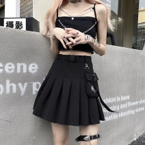 skirt Summer 2021 S,M,L,XL black Mid length dress commute Natural waist other Solid color Type H 25-29 years old 51% (inclusive) - 70% (inclusive) other polyester fiber 401g / m ^ 2 (inclusive) - 500g / m ^ 2 (inclusive)