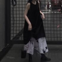 Fashion suit Autumn of 2019 Average size Black dress, skirt 51% (inclusive) - 70% (inclusive)