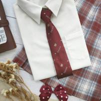 necktie Red raccoon tie (no box), blue raccoon tie (no box), red raccoon tie + box, blue raccoon tie + box Arrow tie Common type (7cm-12cm) Gift box decorative pattern Polyester leisure time Yarn dyed weaving wool ILOVELUS 7cm