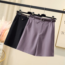 Women's large Summer 2021 Purple, black Large XL, large L, large 2XL, large 3XL, large 4XL trousers singleton  other easy thin Pant
