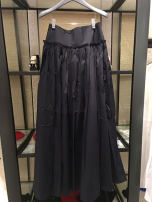 skirt Autumn 2020 1 = XS, 2 = s, 3 = m, 4 = L, 5 = XL Black Navy longuette commute Natural waist A-line skirt Solid color Type A 25-29 years old 5200056-221922-001 51% (inclusive) - 70% (inclusive) Chiffon Xgirdearst / heathy polyester fiber fold Korean version